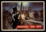 1956 Topps Davy Crockett Green Back #70   Keeping 'Em Off  Front Thumbnail