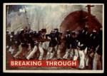 1956 Topps Davy Crockett Green Back #72   Breaking Through  Front Thumbnail