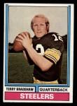 1974 Topps #470  Terry Bradshaw  Front Thumbnail