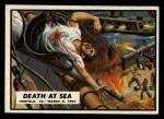 1962 Topps Civil War News #7   Death at Sea Front Thumbnail