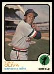 1973 Topps #80  Tony Oliva  Front Thumbnail