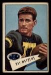 1952 Bowman Small #32  Ray Mathews  Front Thumbnail