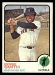 1973 Topps #40  Reggie Smith  Front Thumbnail