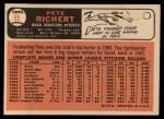 1966 Topps #95  Pete Richert  Back Thumbnail