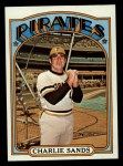 1972 Topps #538  Charlie Sands  Front Thumbnail