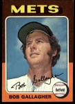 1975 Topps #406  Bob Gallagher  Front Thumbnail