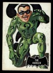 1966 Topps Batman Black Bat #36   The Riddler Front Thumbnail