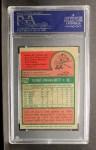 1975 Topps Mini #228  George Brett  Back Thumbnail