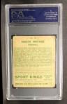 1933 Goudey Sport Kings #35  Knute Rockne   Back Thumbnail