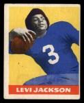 1948 Leaf #5 BLU Levi Jackson  Front Thumbnail