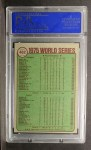 1976 Topps #462   1975 World Series - Reds Champs Back Thumbnail