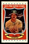 1973 Kellogg's #20  Catfish Hunter  Front Thumbnail