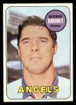 1969 Topps #645  George Brunet  Front Thumbnail