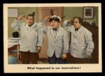 1959 Fleer Three Stooges #28   What Happened to Our Reservation  Front Thumbnail