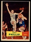 1957 Topps #75  Andy Phillip  Front Thumbnail