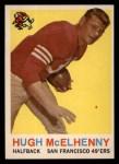1959 Topps #5  Hugh McElhenny  Front Thumbnail