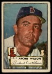 1952 Topps #327  Archie Wilson  Front Thumbnail