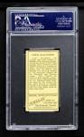 1911 T205  Sport McAllister  Back Thumbnail