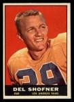 1961 Topps #52  Del Shofner  Front Thumbnail