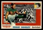 1955 Topps #54  Eddie Dooley  Front Thumbnail