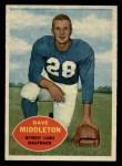 1960 Topps #43  Dave Middleton  Front Thumbnail