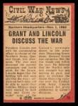 1965 A and BC England Civil War News #79   Council of War Back Thumbnail
