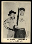 1965 Fleer Gomer Pyle #6   I Must Be Slippin' Two Days Front Thumbnail