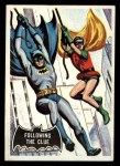 1966 Topps Batman Black Bat #40   Following the Clue Front Thumbnail
