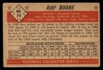 1953 Bowman #79  Ray Boone  Back Thumbnail