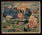 1938 Gum Inc. Horrors of War #43   Loyalist Submarine Goes to Watery Grave Front Thumbnail