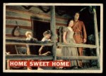 1956 Topps Davy Crockett #24   Home Sweet Home  Front Thumbnail