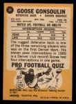 1967 Topps #34  Goose Gonsoulin  Back Thumbnail
