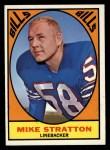 1967 Topps #29  Mike Stratton  Front Thumbnail