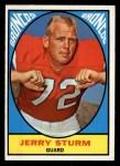 1967 Topps #39  Jerry Sturm  Front Thumbnail
