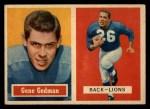 1957 Topps #44  Gene Gedman  Front Thumbnail