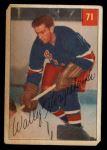 1954 Parkhurst #71  Wally Hergesheimer  Front Thumbnail