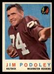 1959 Topps #165  Jim Podoley  Front Thumbnail