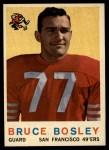 1959 Topps #166  Bruce Bosley  Front Thumbnail