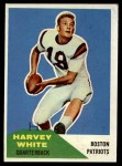 1960 Fleer #1  Harvey White  Front Thumbnail