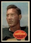 1960 Topps #53  Lew Carpenter  Front Thumbnail