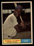 1961 Topps #551  George Altman  Front Thumbnail