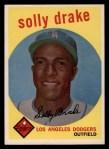 1959 Topps #406  Solly Drake  Front Thumbnail