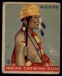 1933 Goudey Indian Gum #206  Alchise   Front Thumbnail