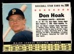 1961 Post #130 BOX Don Hoak   Front Thumbnail