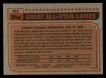 1983 Topps #399   -  Mike Schmidt All-Star Back Thumbnail