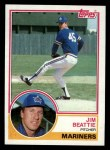1983 Topps #675  Jim Beattie  Front Thumbnail