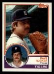 1983 Topps #304  Dave Rucker  Front Thumbnail