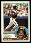 1983 Topps #505  Garry Templeton  Front Thumbnail