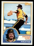 1983 Topps #226  Enrique Romo  Front Thumbnail