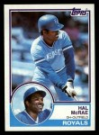 1983 Topps #25  Hal McRae  Front Thumbnail
